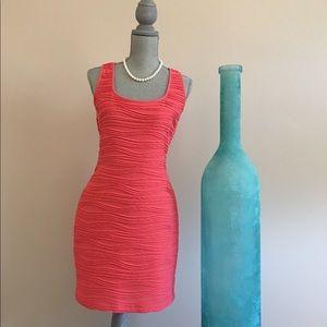 Sexy Orange Guess Dress